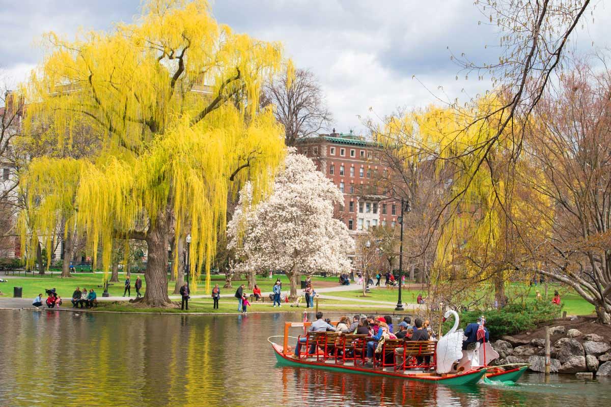 4 Boston Gardens to visit in Spring