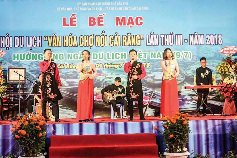 Vietravel Cần Thơ tham gia Ngày hội Du lịch 'Văn hóa Chợ nổi Cái Răng' lần III - 2018