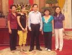 Chủ tịch nước Nguyễn Minh Triết tiếp chuyện thân mật với đoàn du lịch Vietravel tại Phủ Chủ Tịch