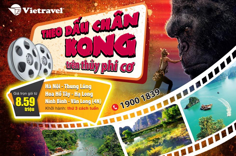 """""""Theo dấu chân Kong"""" ngay trong hè này, bạn đã sẵn sàng?"""