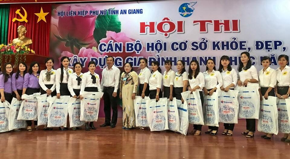 Vietravel Long Xuyên đồng hành Hội thi Chào mừng Ngày Gia đình Việt Nam 28/6