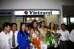 Vietravel đón các hoa hậu trái đất đến Việt Nam