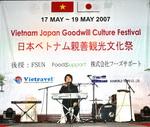 """Khởi động Chương trình """"Lễ hội Việt Nam"""" tại Nhật Bản"""