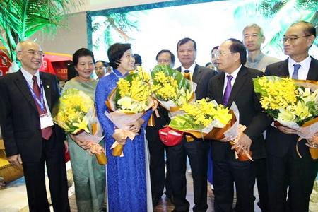 Vietravel mở cửa gian hàng chào đón du khách đến với ITE HCMC 2014