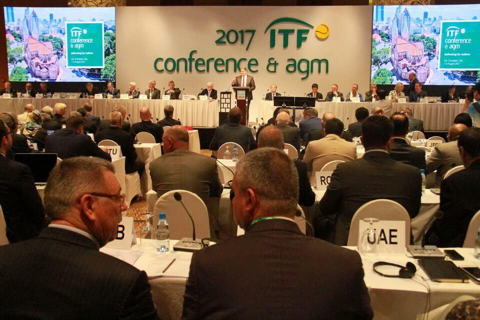 Việt Nam tổ chức Đại hội thường niên Liên đoàn Quần Vợt Thế Giới 2017 (ITF AGM 2017)