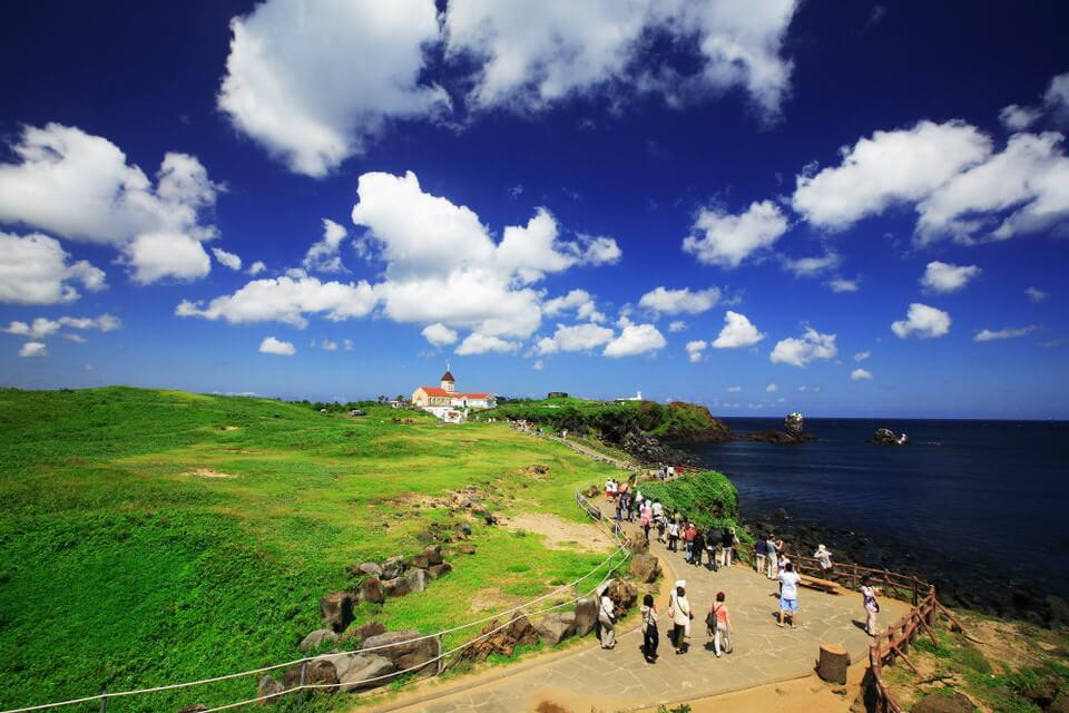 Bay thẳng đến Jeju - Không cần visa