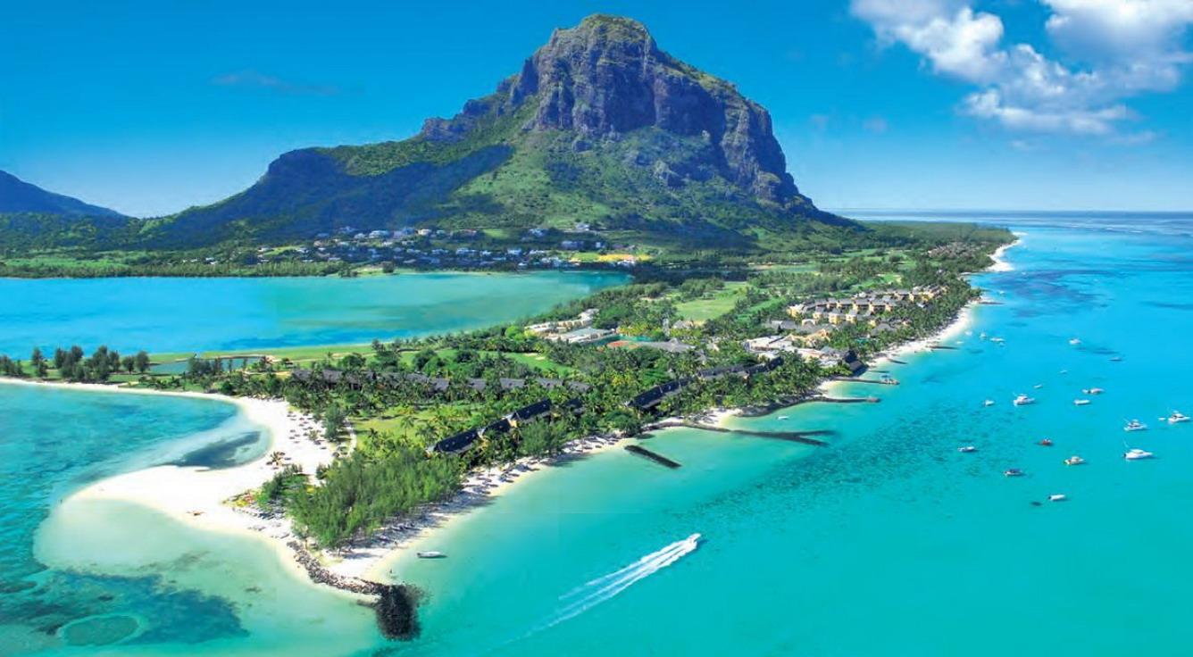 Thiên đường biển xanh Mauritius