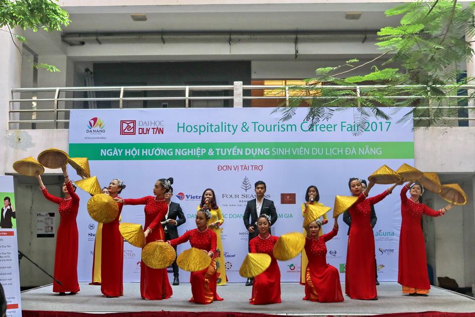 Vietravel 03 năm đồng hành cùng Ngày Hội hướng nghiệp Du lịch thành phố Đà Nẵng