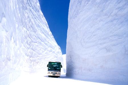 Nước Nhật tinh khôi với cung đường tuyết trắng
