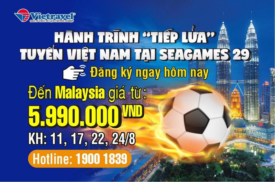 """Đến Malaysia """"cháy"""" hết mình cùng SEA Games 29"""