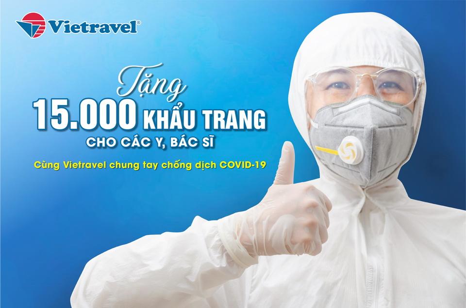 Vietravel - Tiếp lửa niềm tin 'Chung tay chống dịch COVID-19'