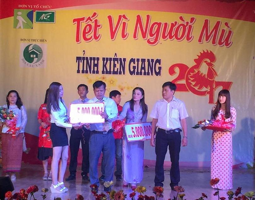 """Vietravel Rạch Giá ủng hộ chương trình """"Tết vì người mù tỉnh Kiên Giang"""""""