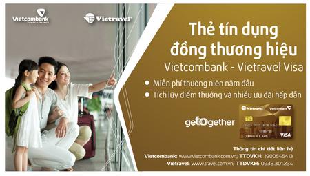 Thể lệ chương trình khuyến mại nhân dịp ra mắt thẻ đồng thương hiệu Vietcombank - Vietravel Visa