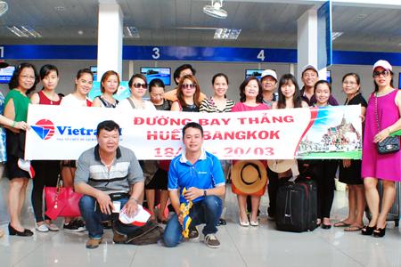Vietravel Huế tổ chức tour Thái Lan với đường bay thẳng