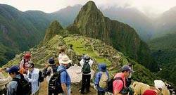 Hoards of tourists threaten Machu Picchu's very survival