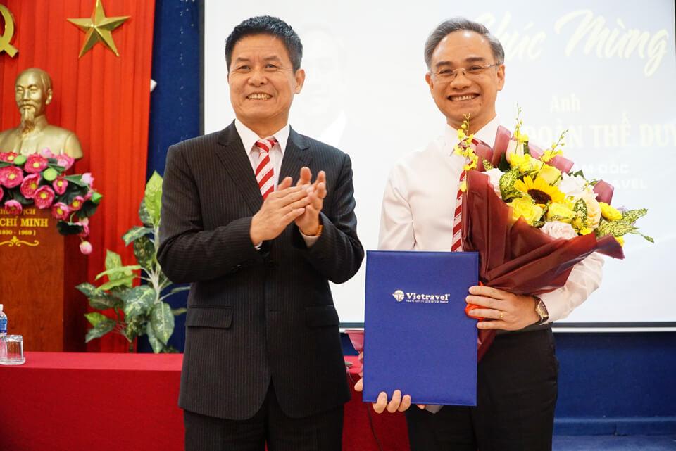 Vietravel Holdings bổ nhiệm ông Trần Đoàn Thế Duy – Tân Tổng giám đốc Công ty du lịch Vietravel