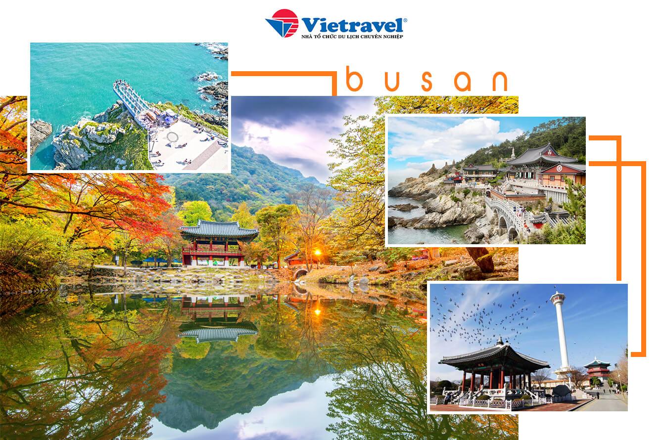 Busan - điểm đến mới mùa thu