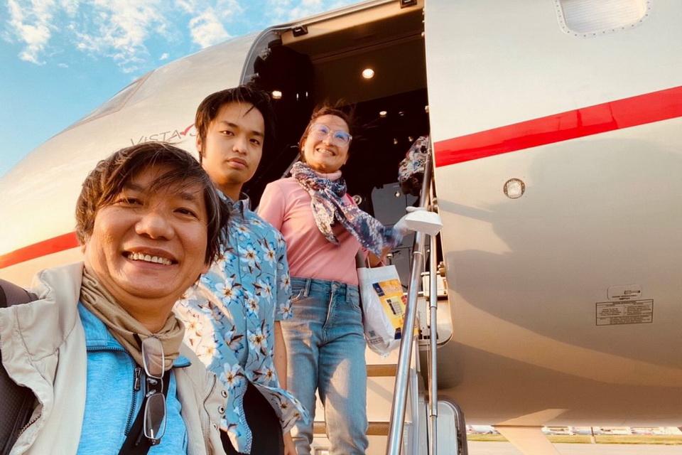 Chuyến bay chuyên cơ đầu tiên từ Mỹ về Việt Nam trong mùa dịch Covid-19