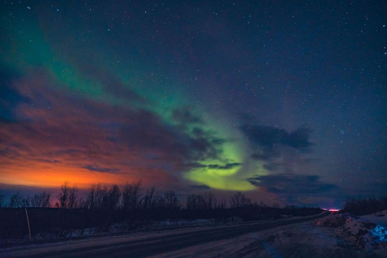 Dạ tiệc ánh sáng Bắc Âu
