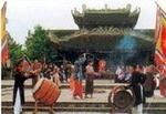 Di tích đền Đô trên quê hương quan họ