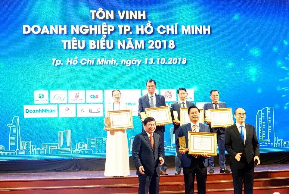 Vietravel vinh dự đạt danh hiệu 'Doanh nghiệp TP.HCM tiêu biểu năm 2018'