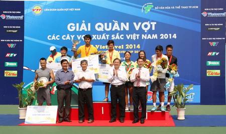 Chung kết và bế mạc Giải quần vợt các cây vợt xuất sắc Việt Nam – Vietravel Cup 2014