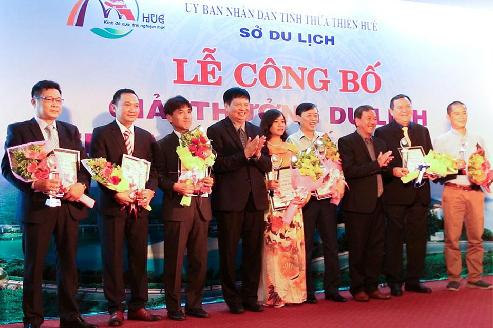 Vietravel được vinh danh doanh nghiệp 'Lữ hành hàng đầu tỉnh Thừa Thiên Huế - 2018'