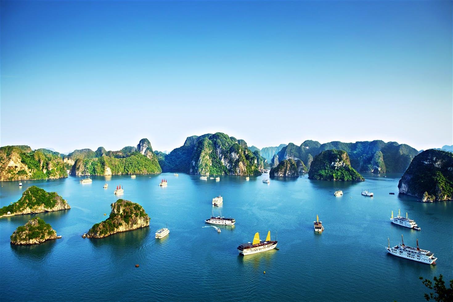 Ha Long Bay, North Vietnam