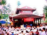 Thăm đền thờ Thủ khoa Huân ở Tiền Giang