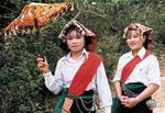 Khăn Piêu – Nét đẹp của cô gái Thái