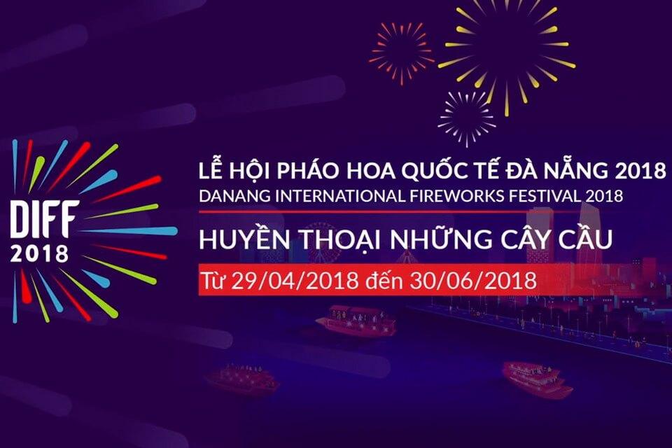 """PHÁO HOA ĐÀ NẴNG 2018 – """"HUYỀN THOẠI NHỮNG CÂY CẦU"""""""