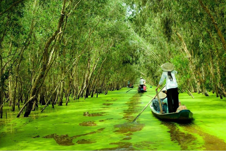 Du lịch sinh thái miền Tây mùa nước nổi