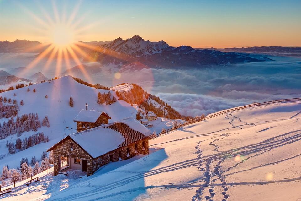 'Say' giữa mùa đông Châu Âu