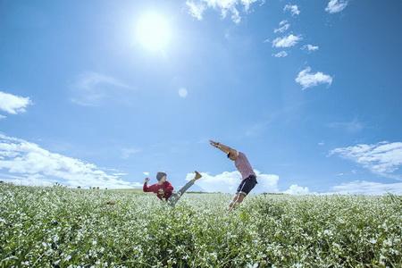 Tinh khôi mùa hoa cải Đà Lạt