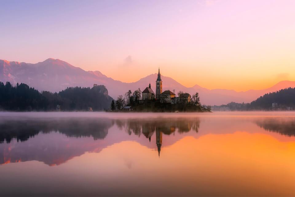Đẹp nao lòng mùa thu Balkan