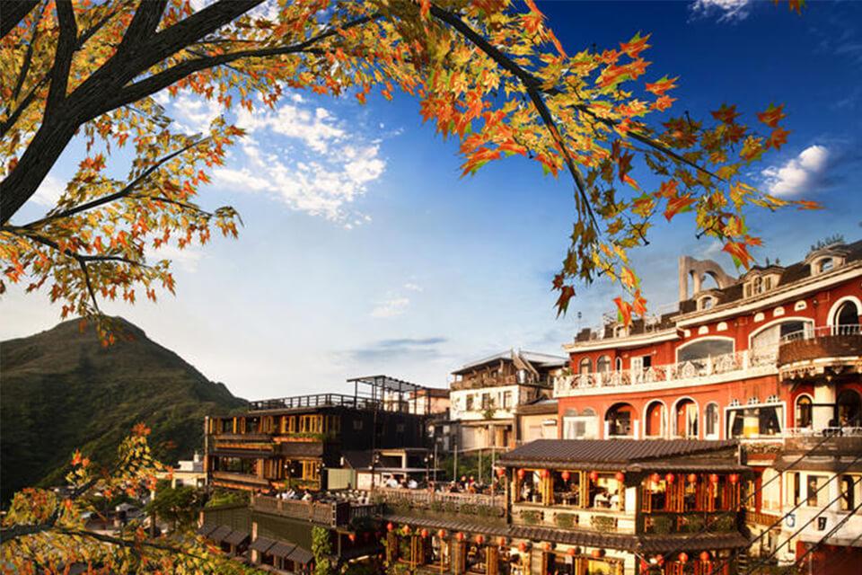Những cung đường mùa thu lãng mạn nhất xứ Đài