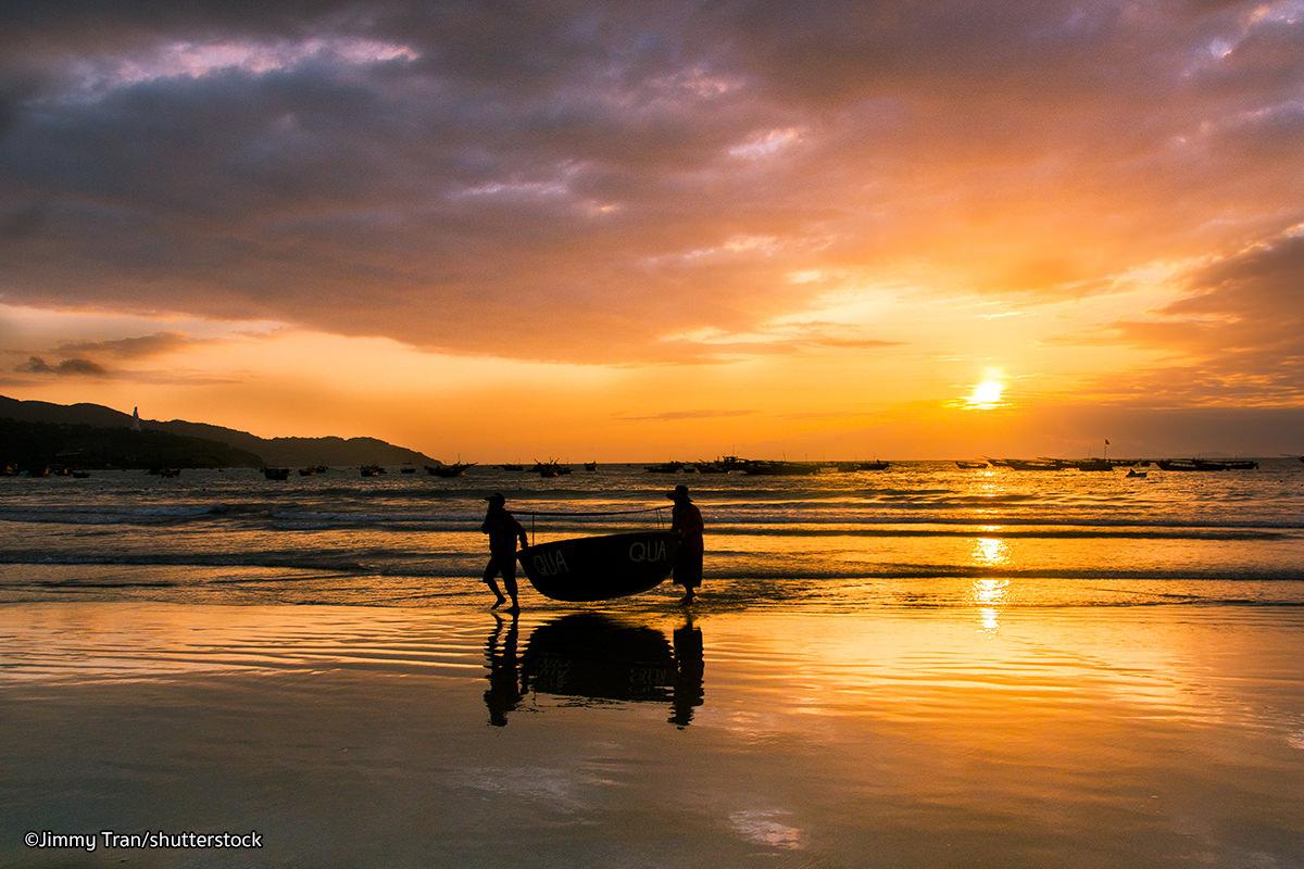 My Khe Beach, a beautiful beach in Da Nang