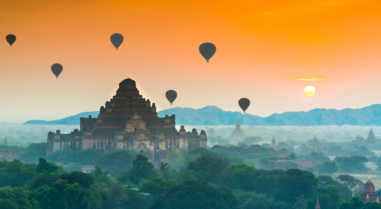 Myanmar, Land of the Golden Pagoda