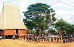 Lễ hội mừng nhà rông mới của dân tộc Gia Rai, Kon Tum
