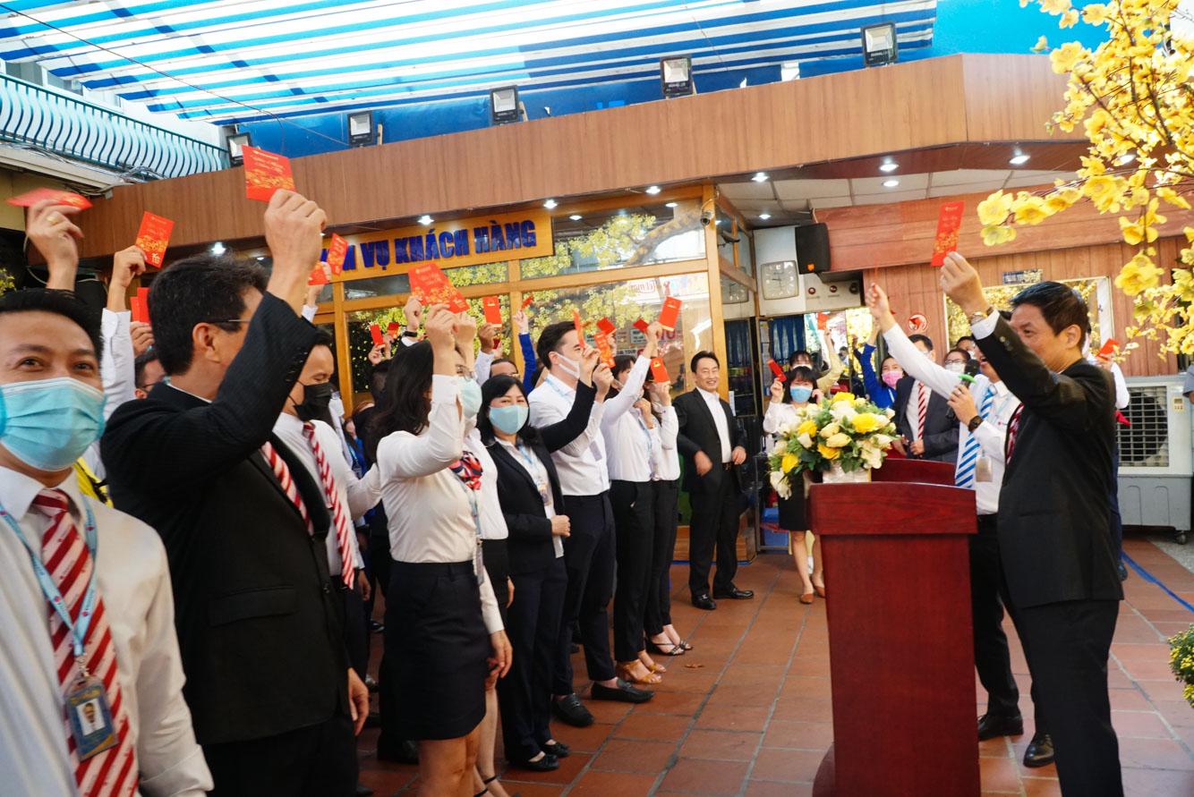 Vietravel tổ chức gặp mặt và chúc Tết đầu xuân Tân Sửu 2021