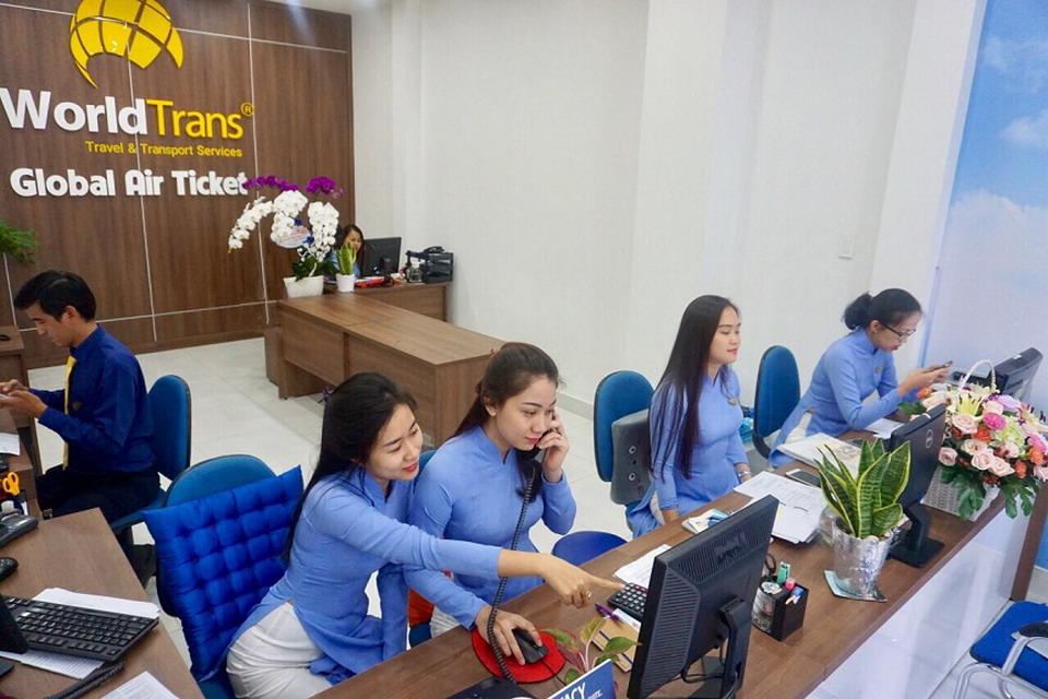 WorldTrans khai trương sàn vé máy bay lớn nhất Việt Nam