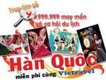 """Chúc mừng khách hàng Nguyễn Hoàng Trí Hiếu trúng giải đặc biệt của chương trình """"Truy tìm số 9 may mắn"""" cùng Vietravel"""