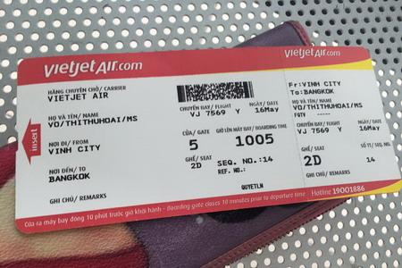 Hè rực rỡ 2016: Đường bay mới Vinh - Bangkok đã sẵn sàng