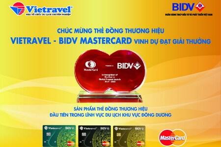 Mastercard tôn vinh thẻ đồng thương hiệu BIDV Vietravel