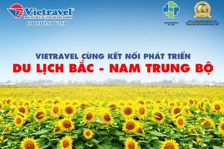 Vietravel cùng kết nối phát triển du lịch Bắc - Nam Trung Bộ