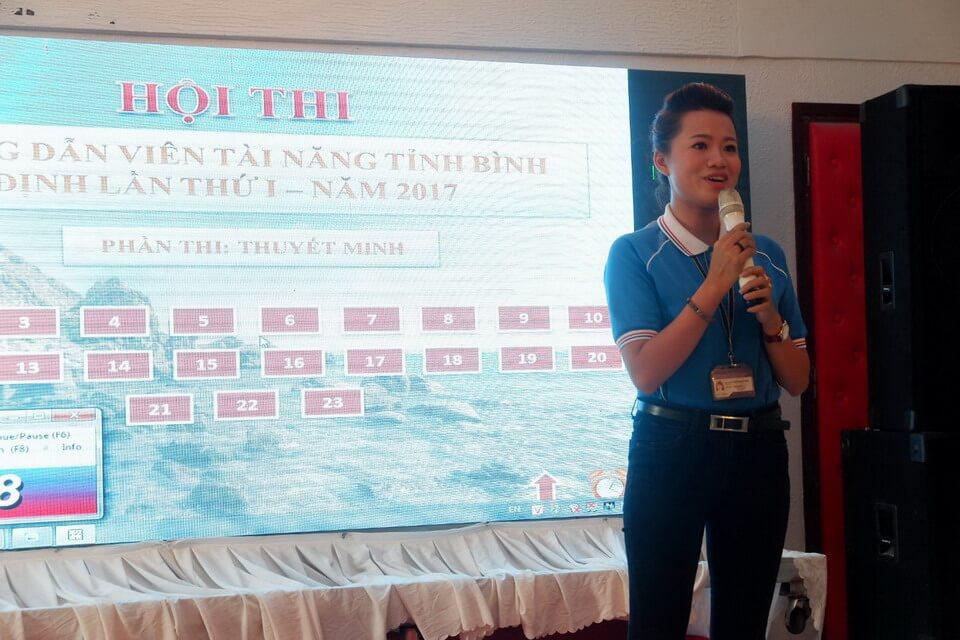 Vietravel Quy Nhơn tài trợ hội thi Hướng Dẫn Viên tài năng tỉnh Bình Định lần I - năm 2017