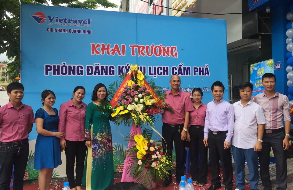 Vietravel Quảng Ninh mở Phòng đăng ký Du lịch Cẩm Phả