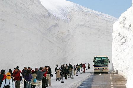 Tinh khôi cung đường tuyết Tateyama