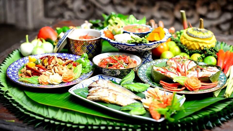 Bùng nổ hương vị cùng ẩm thực Thái Lan