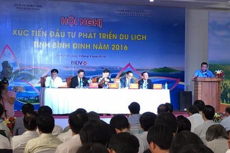Vietravel tham gia hội nghị xúc tiến đầu tư phát triển du lịch tỉnh Bình Định 2016